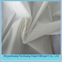 cheap white polyester cotton fabric rolls