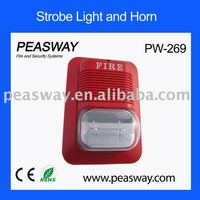 2011 new strobe light PEASWAY PW-269 for fire alarm system