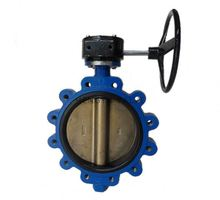 Save operation costs double eccentric butterfly valve manufactured in china