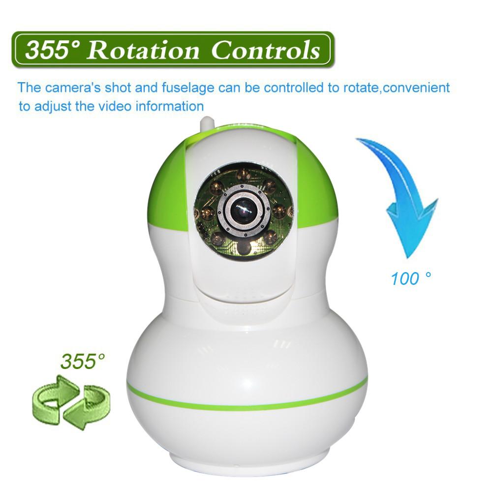 OEM IP Camera Module, Alarm WIFI Video Intercom Nework Home Monitoring ,Support SD/TF Card Pan Tilt Indoor Wireless IP Camera