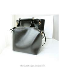 2015 hot trend fashion cow leather handbag