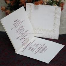 OEM hotsell wholesale oriental wedding card