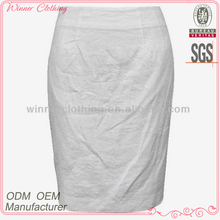 New fashion design easy to match formal wear pencil skirts made in china