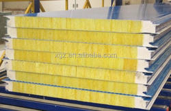 2014 hot sale high quality glasswool sandwich panel