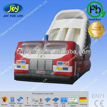 Cheap USD810 commercial combo bounce house, inflatable amusement, inflatable fire truck