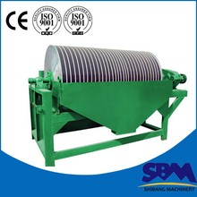 China High Efficiency Magnetic Separation , Magnetic separator Machine Gold Mining Machine