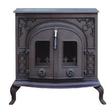 Decoração lareira chama/wood fogão de ferro fundido grelhas