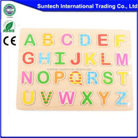 Educational Wooden Alphabet Puzzle Toy