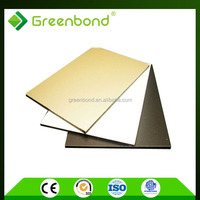 Greenbond aluminium composite panel of high quality for kitchen cabinets decoration materials in china market