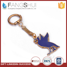 New design rotatable metal keychain spinning key chain