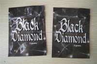 Black Diamond herbal incense blend Bag wtih Zipper