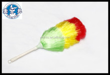 2015 new design hot sale colored plastic duster with white handle