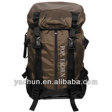 Carry on travel trekking bag outdoor rucksack with rain cover