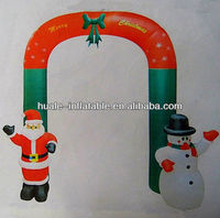 Santa claus,inflatable arch ,inflatable snowman for Christmas decoration
