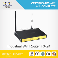 F3424 M2M Industrial 3g Cellular Router wcdma umts router with sim card slot m