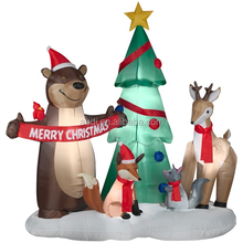 Hot Selling the most popular inflatables christmas tree decoration for sale
