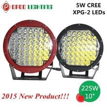 "High Performance 10"" 225W Led Driving Light, ATV 4x4 Offroad 225W Led Driving Light"