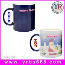 Printing logo amazing color change mug gift 2014 christmas gift/2014 top 100 christmas gifts /christmas 2014 new hot items gifts