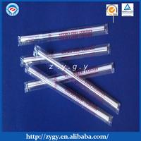 flexible straw four sides sealed with film