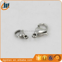 High quality stainless steel lobster claw clasps wholesale