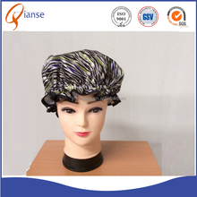 OEM Factory direct sale disposable plastic hair hotel adult shower cap bathing washed cap