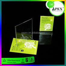Rotation Transparent ! Acrylic Plastic Menu Holder,Menu Holder
