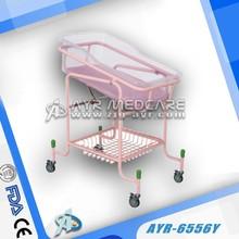 AYR-6556Y Steel Baby Crib Pink