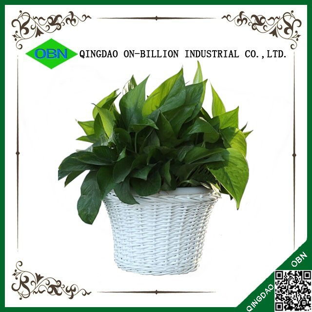 Home decor wicker plant pot for sale for Home interior products for sale