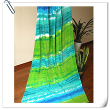 New Style Popular Velvet Pile Soft Cotton Printed Design Your Own Beach Towel