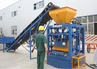 Hot selling QT4-26 block making machine plant long