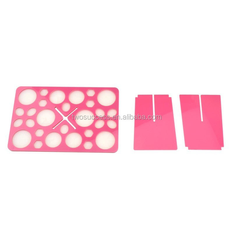 foldable makeup brush holder (4)