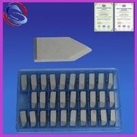 K10 K20 YG6X YG6 C1cemented carbide brazed tips for machining cast iron