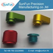 7075 aluminum material anodized milling service / cnc precision mechanical aluminum parts