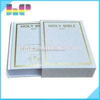 Custom art paper hardcover book printing 4 color with box packaging