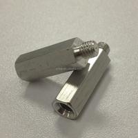 CNC Lathe Machining Aluminum M2 M3 Standoff Screw Custom Service