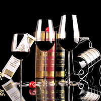 Wholesale Handmade Crystal Clear Red Wine Glass