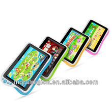 Smart 7 inch educational kids learning tablet support 11 kinds of languages