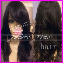 Wholesale glueless lace wig body wave 100% human hair brazilian hair full lace wig