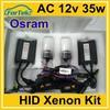 car front light slim O-sram hid xenon kit ac 12v 35w h1 h3 h4 h7 h11 9005 9006