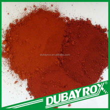 China Supplier DUBAYROX Colors Red Iron Oxide Red Pigment