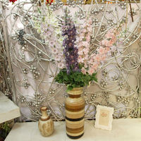 Gypsophila Baby Breath Fake Silk ArtificialFlowers Plant for Home Wedding Party Home Decoration Products