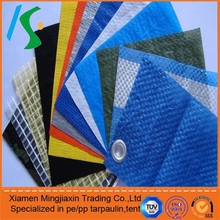 Heated fireproof waterproof printed pe tarps for roofing truck cover
