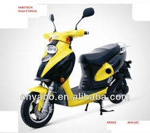 2016 Prince EEC Brushless motor 48V 20Ah Electric Scooter 500w HOT SALE best electric motorcycle