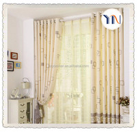 beautiful pure flame retardant fabric home curtain fabric for wedding time