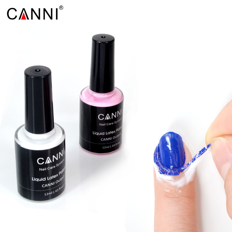 71028 Canni Nail Art Peel Liquid Latex Tape & Finger Skin Protected ...