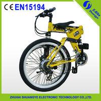 "2015 factory new 26"" 36V folding mountain electric bike engine"