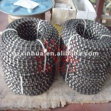 Diamond wire saw for multi wire machines