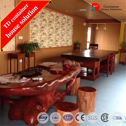 Low cost china shipping container coffee shop