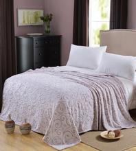 Carved Super Soft Coral Fleece/Hot Sale Textile Fabric/Coral Fleece Blankets