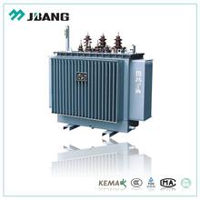 UL verified 11kv 2000kva 3 phase ferrite core step down oil immersed transformer